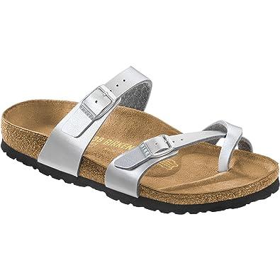 44fc9980965a Birkenstock Mayari BF 1009609 Graceful Silver Narrow  Amazon.co.uk  Shoes    Bags