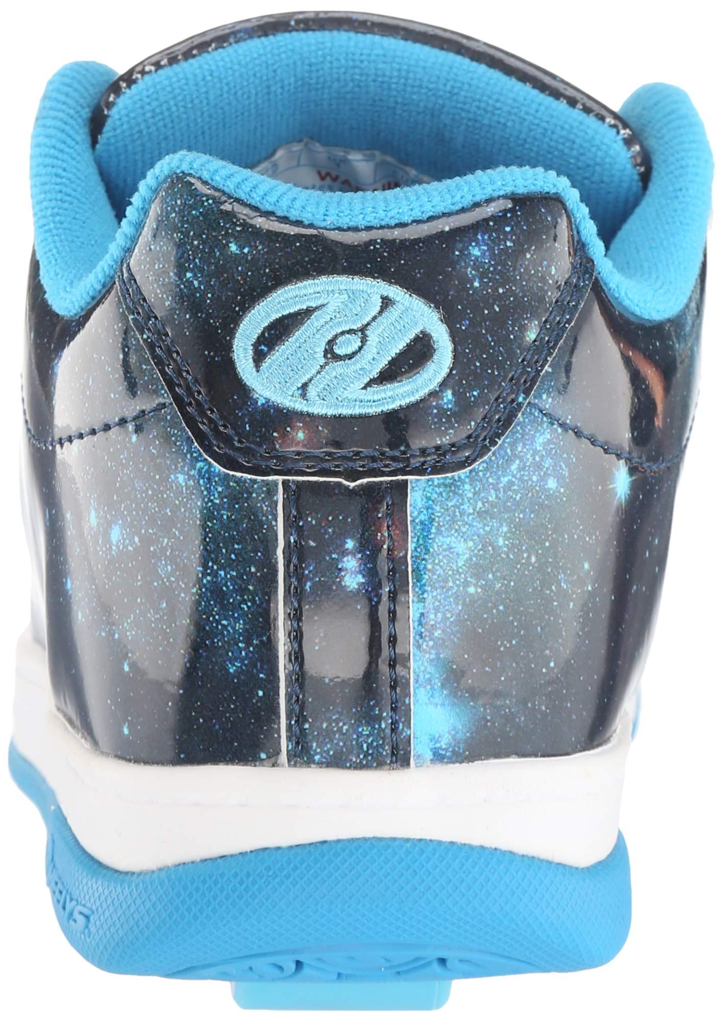 Heelys Girls' Split Tennis Shoe Blue/Galaxy 2 M US Big Kid by Heelys (Image #2)
