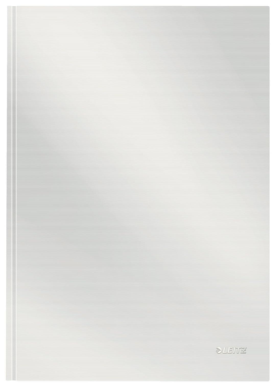 Hardcover 80 Blatt 46660020 Leitz A5 Notizbuch Karierte Seiten Hellrot Solid