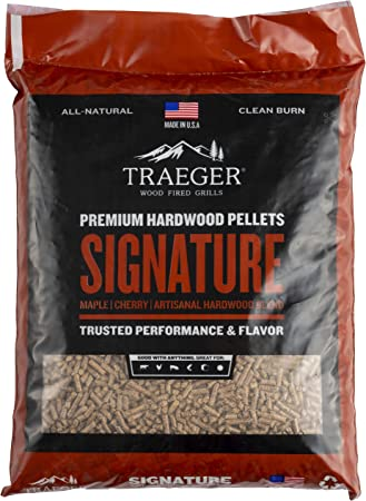 Traeger PEL331 Signature Blend Grill, Smoke, Bake, Roast, Braise, and BBQ, 20 lb