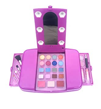 vanity set for girls. Little Girls Make Up Set Kids Beauty Toy Vanity Young Makeup  Cosmetics Glamour 28