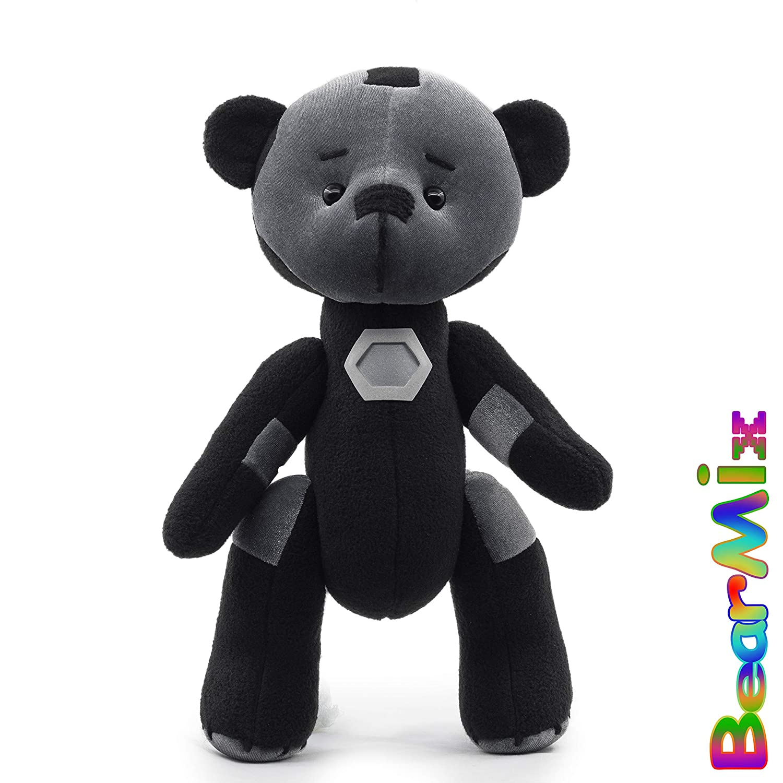War Machine bear marvel superhero movie comic plush toy avengers james Rupert Rhodey Rhodes cosplay