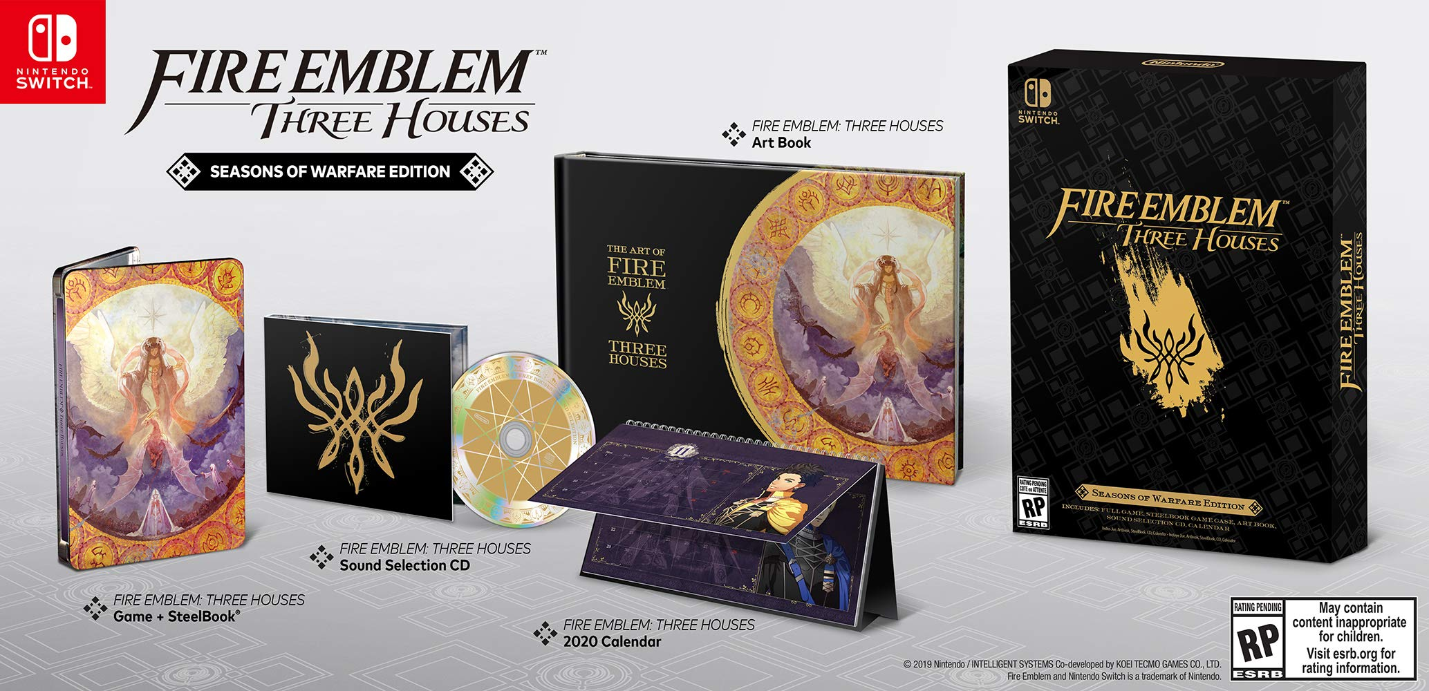 Fire Emblem: Three Houses Seasons of Warfare Edition - Nintendo Switch Seasons of Warfare Edition