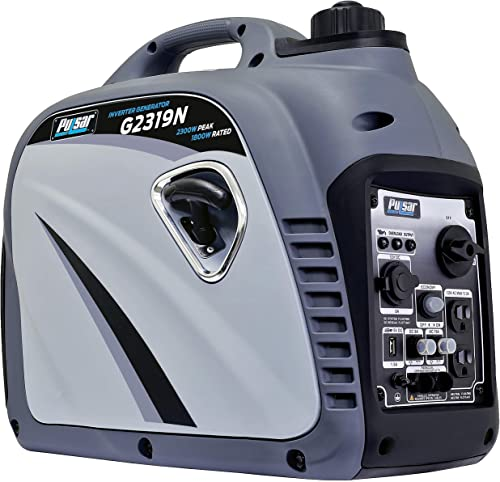 Pulsar G2319N 2,300W Portable Gas-Powered Inverter Generator