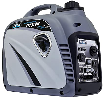 Best Portable Inverter Generator : Pulsar G2319N 2,300W Portable Generator