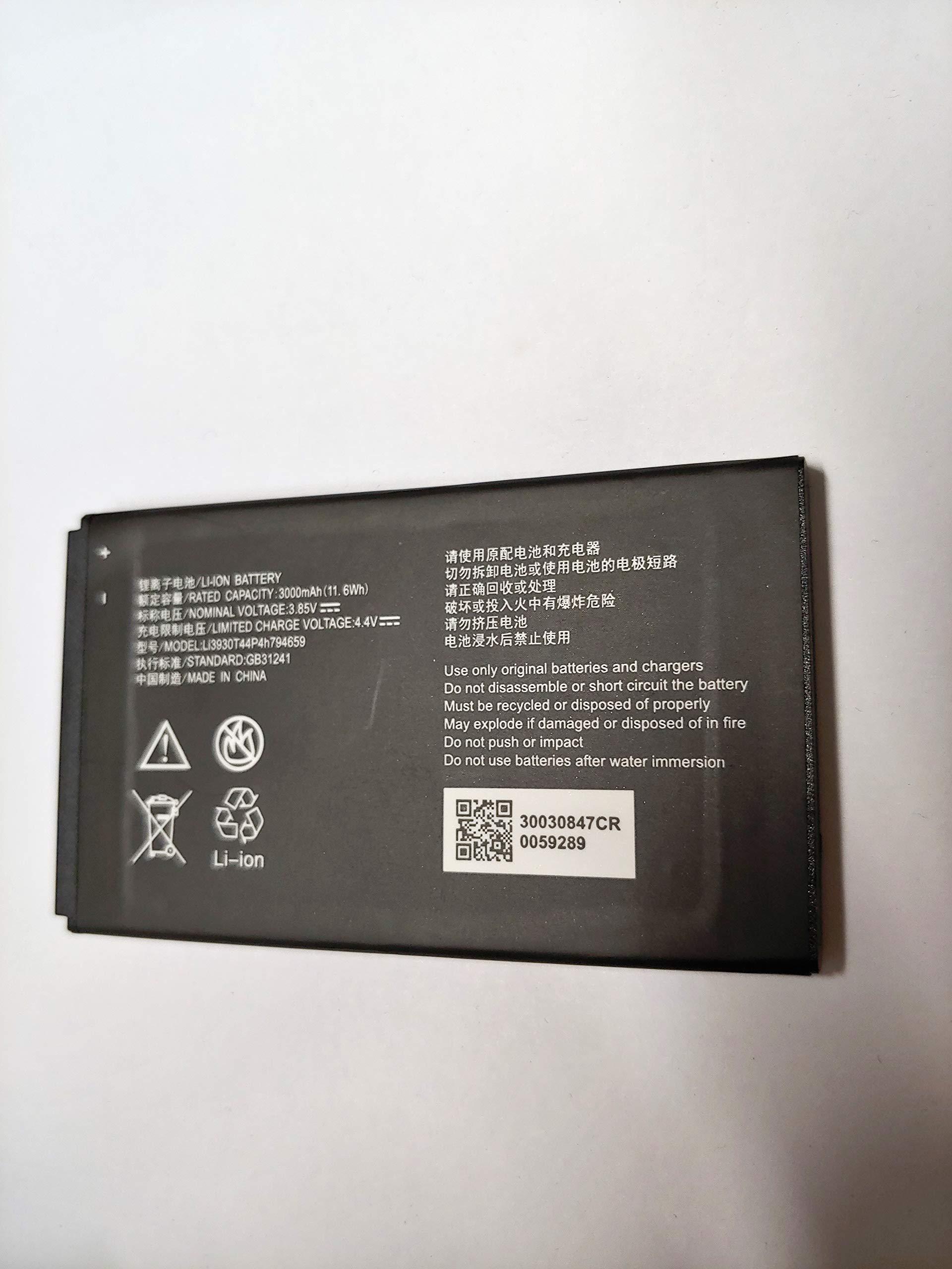 Original A&B Standard Battery for ZTE MF985 AT&T Velocity 2 Hotspot Li3930T44P4h794659 3000mAh by A&B