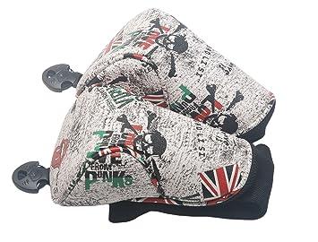 mamimamih Golf gris diseño de calavera cabeza de palo de ...