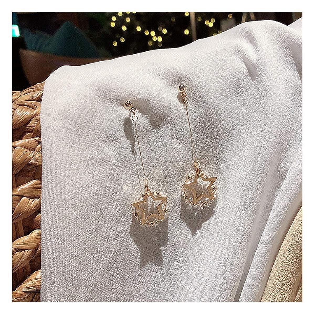 Fashion Simple Style Earring JXVLUYE Colors Earring for Women Girls Crystal Tassel Great Gifts for Women Girls