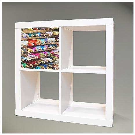 Adhesivos decorativos para muebles caja plegable para mueble IKEA EXPEDIT (Kallax) 32,6