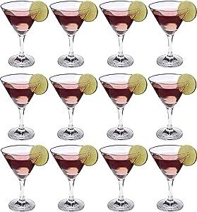 Epure Cremona Collection 4 Piece Wine Glass Set (Martini (9 oz) - 12 pc.)