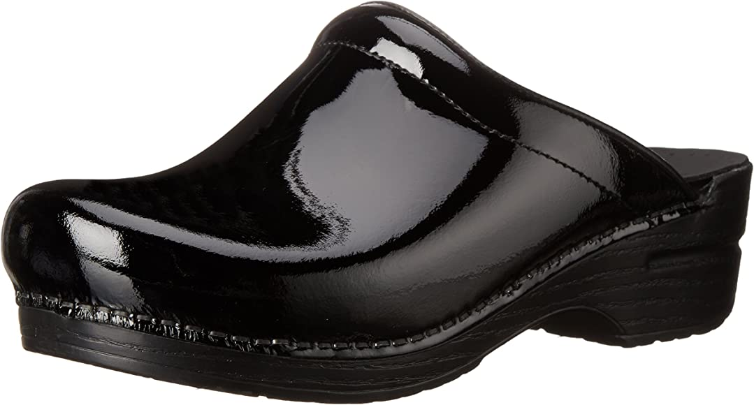 Sonja Patent Leather Clog