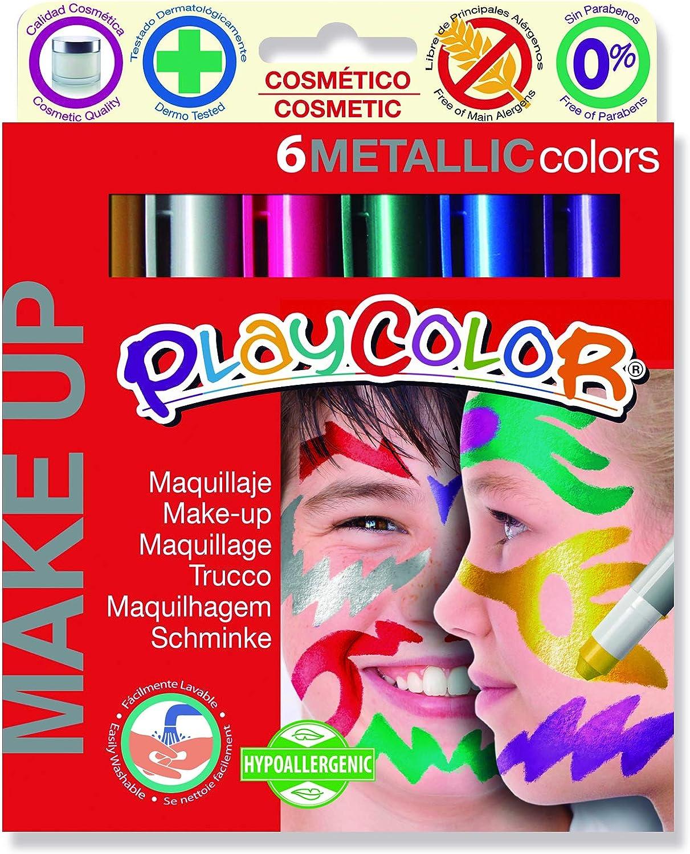 Multicolore 8414213010114 Wirth /& GOFFI Instant Playcolor Make-Up Metallic Pezzi 6 Scuola Cartoleria Glooke Selected