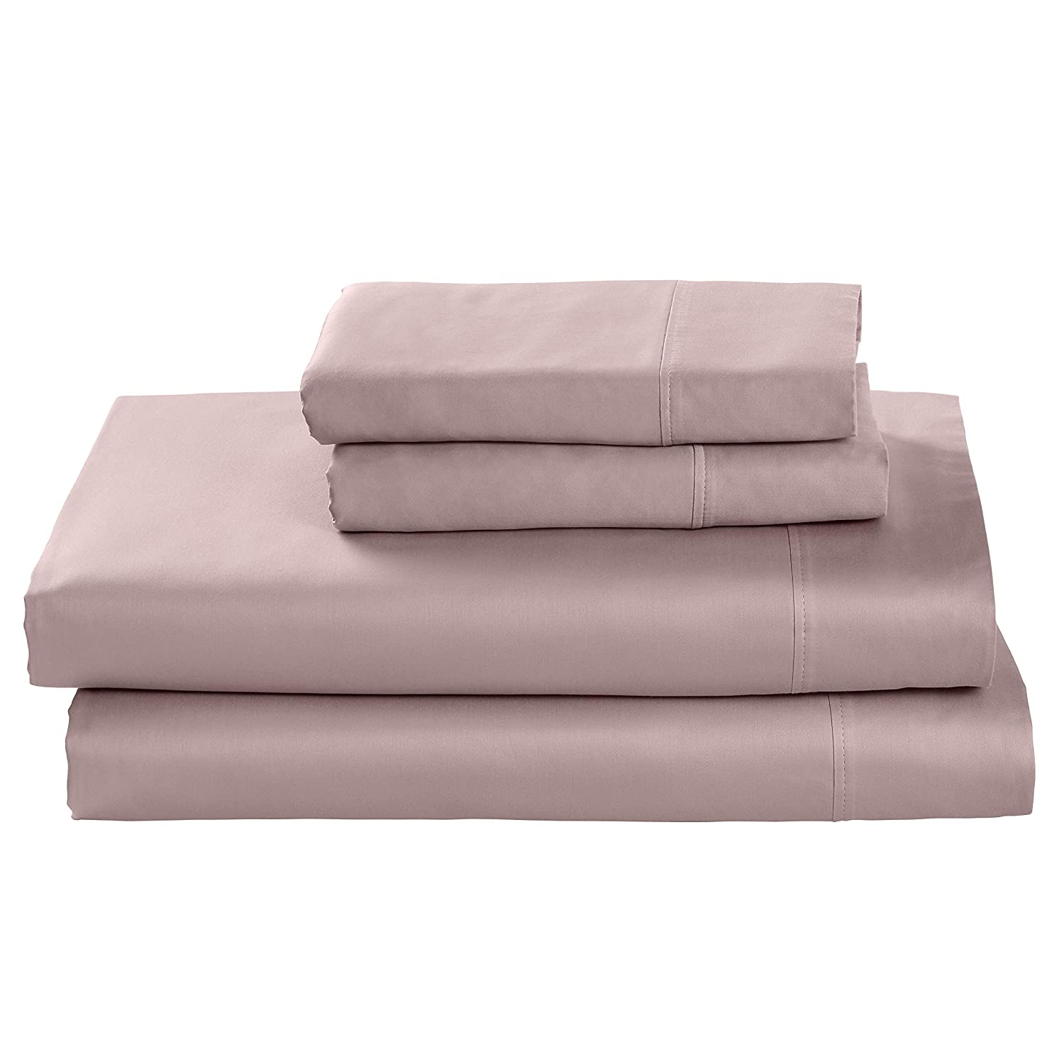 Rivet Cotton Tencel Bed Sheet Set, Soft and Breathable