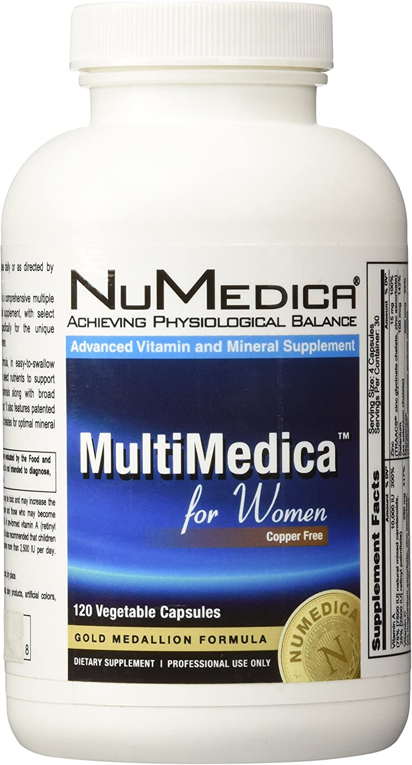 NuMedica – MultiMedica for Women – 120 Vegetable Capsules