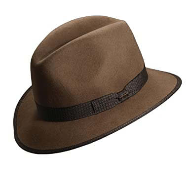 51768e3ca Scala Crushable Water Repellent Wool Felt Safari Hat