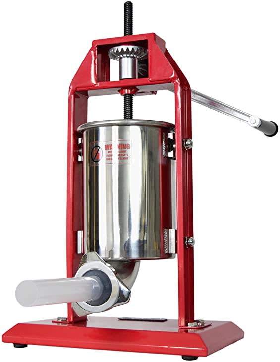 New VIVO Sausage Stuffer Vertical Stainless Steel 3L/7LB 5-7 Pound Meat Filler ~ by VIVO