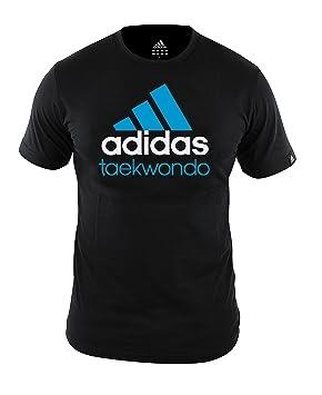 adidas Comunidad Line Camiseta de Taekwondo Negro, Negro, Large: Amazon.es: Deportes y aire libre