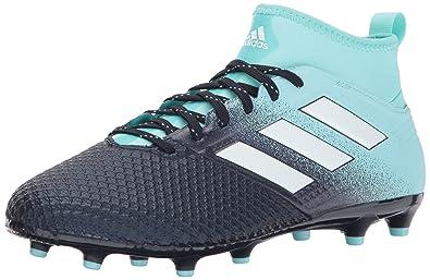 a74c4ca76a93 adidas Men's ACE 17.3 FG Soccer Shoe, Energy Aqua/White/Legend Ink,