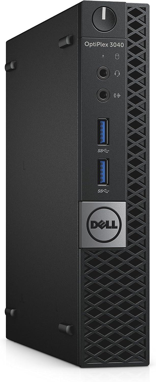 Dell D4XXF OptiPlex 3040 MFF Micro Desktop (Intel Core i3-6100T, 4GB 1600MHz DDR3 RAM, 128GB SSD, Windows 10 Pro, Black)