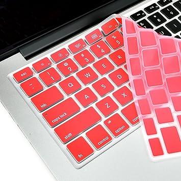 """Topcase Teclado de silicona para MacBook 13 """"Unibody/Macbook Pro 13"""","""