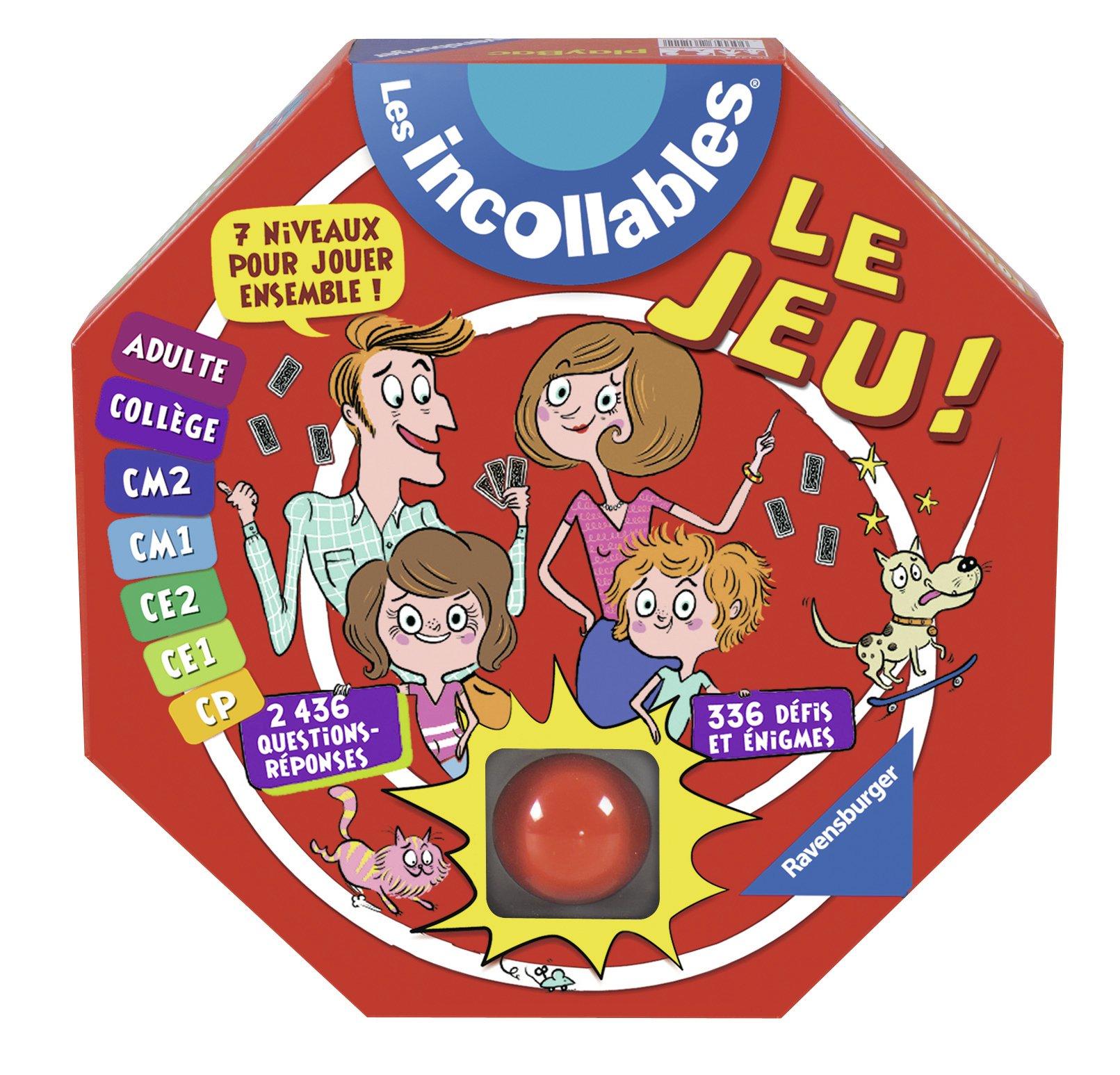 Ravensburger - 26636 - Jeu De Société Electronique - Incollables + Buzzer product image
