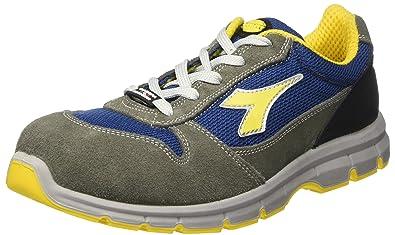 Diadora - Run Textile Low S1p, zapatos de trabajo Unisex adulto, Gris (Grigio