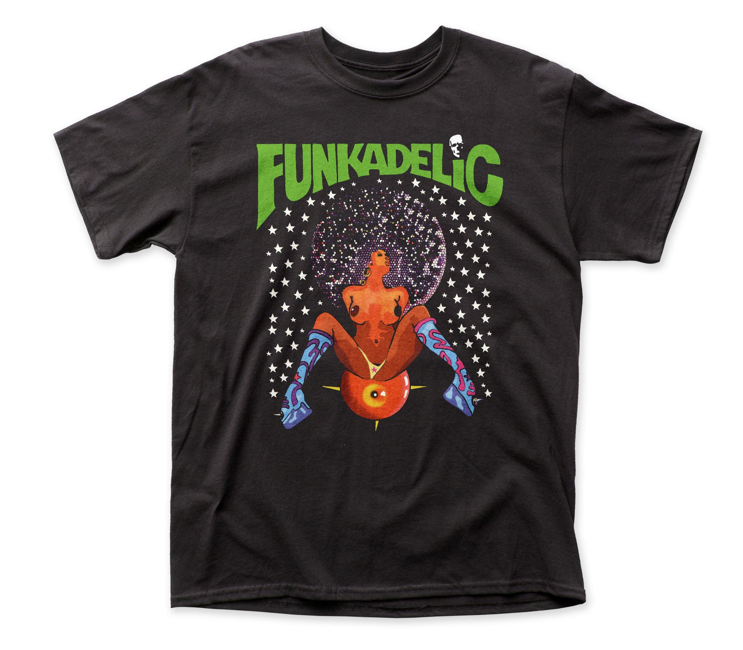 Funkadelic Afro Girl Adult Shirts