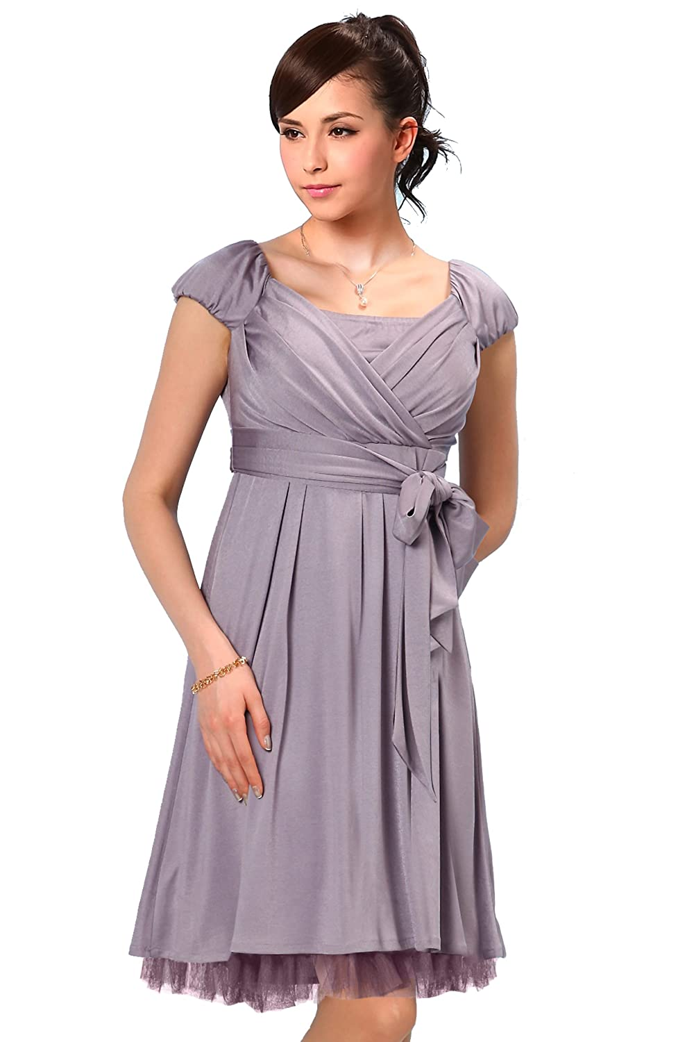 Sweet Mommy Wide Sash Maternity and Nursing Dress SO0095