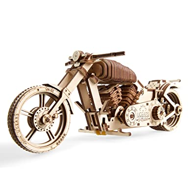 Ugears Bike VM-02, No Glue Required: Toys & Games