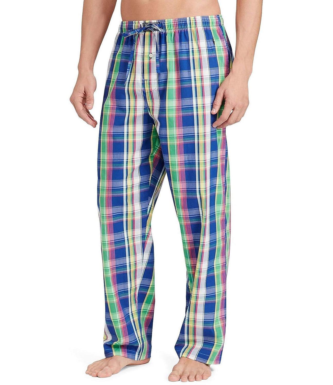 Men's Pants Polo Pajama Ralph Amazon Plaid Lauren Woven At qVSpGUzM