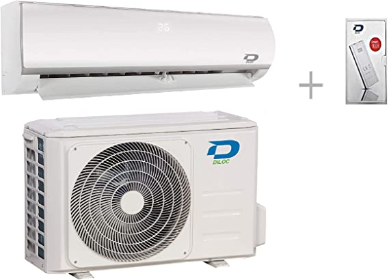 Diloc Frozen Aire Acondicionado Wifi Climatizador Inverter Gas R32 ...