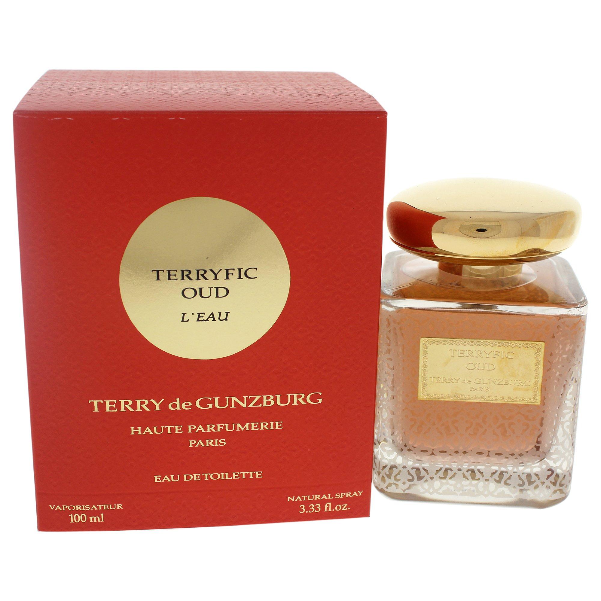Terry De Gunzburg Terryfic Oud L'eau for Women Eau de Toilette Spray, 3.33 Ounce