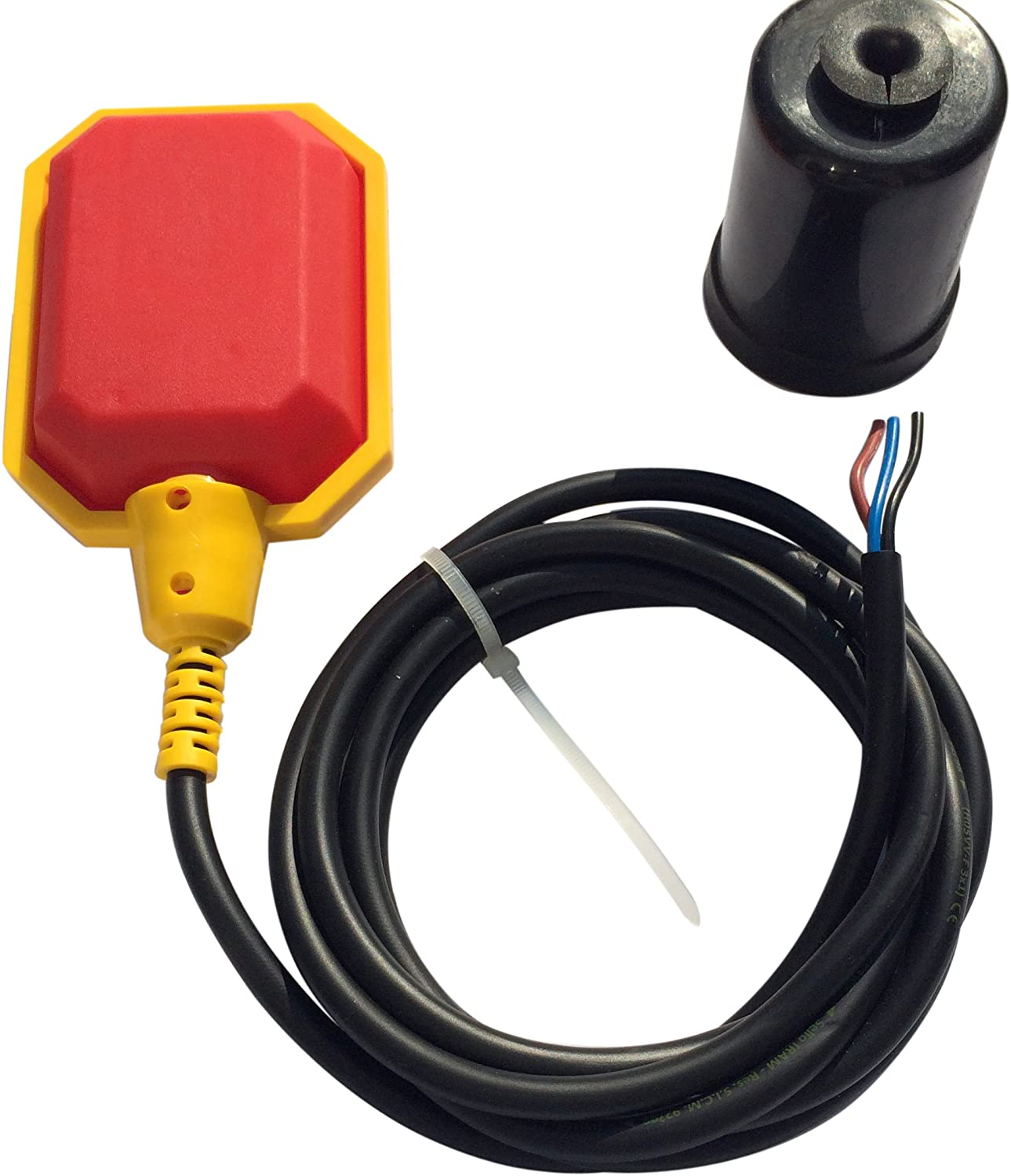 QWORK 10 FT Cable Float Switch Water Level Controller Durable Water Tank Sump Pump