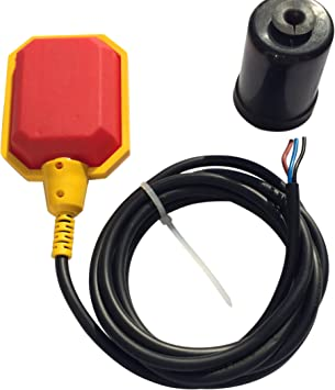 Float Switch w / 10 ft. (3 Meter) Cable, Water Tank, Sump Pump (5 Year  Warranty) - Sump Pump Accessories - Amazon.comAmazon.com