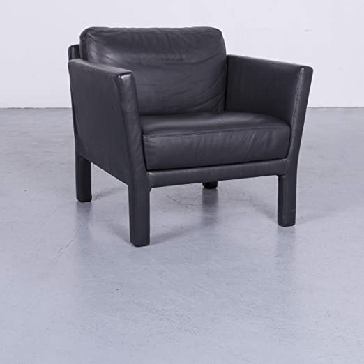 Witt Muñeco Ella Designer - Sillón de piel monoplaza Negro ...