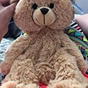 Recordable Teddy Bear Walmart, Amazon Com Personal Recordable Plush 15 Talking Teddy Bear Toys Games