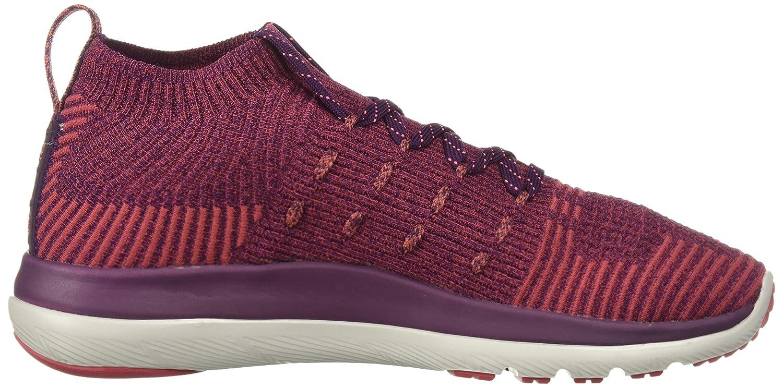 Under Armour Women's Slingflex Rise Sneaker B071Z928TT 8.5 M US|Merlot (500)/Rustic Red
