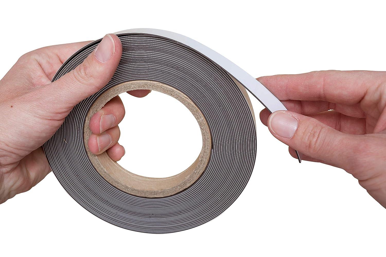 bianco 2 cm bianco 1/mm MAUL Marcatura nastro magnetico
