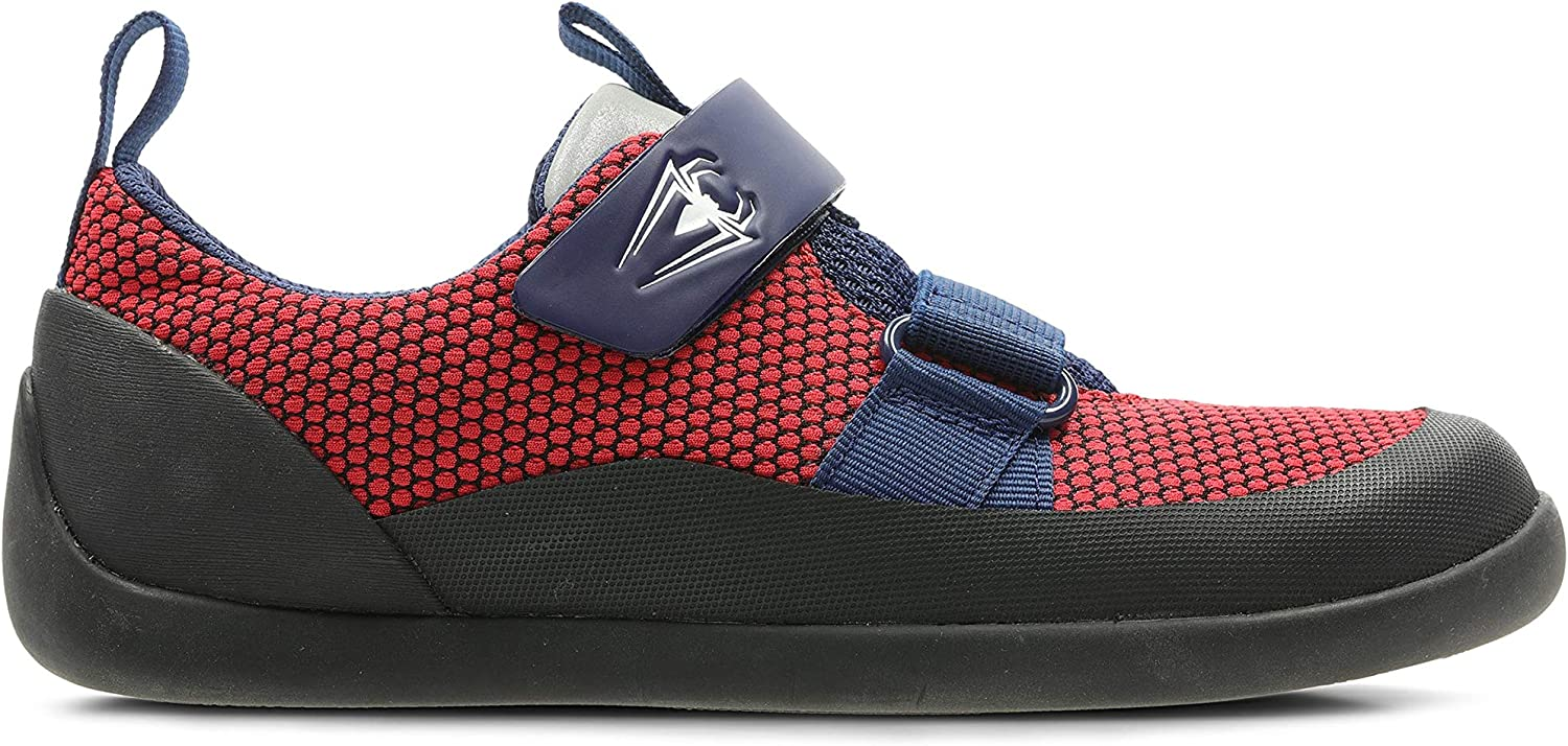 Clarks 424507G Spiderman Play Web K Red