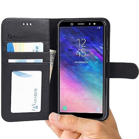 Samsung Galaxy A6 Brieftasche Handy Hulle Amazon De Elektronik