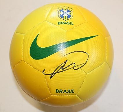 competitive price a5fa4 dfbe1 Kaka Signed Brazil Nike Soccer Ball w/COA Real Madrid Futbol ...