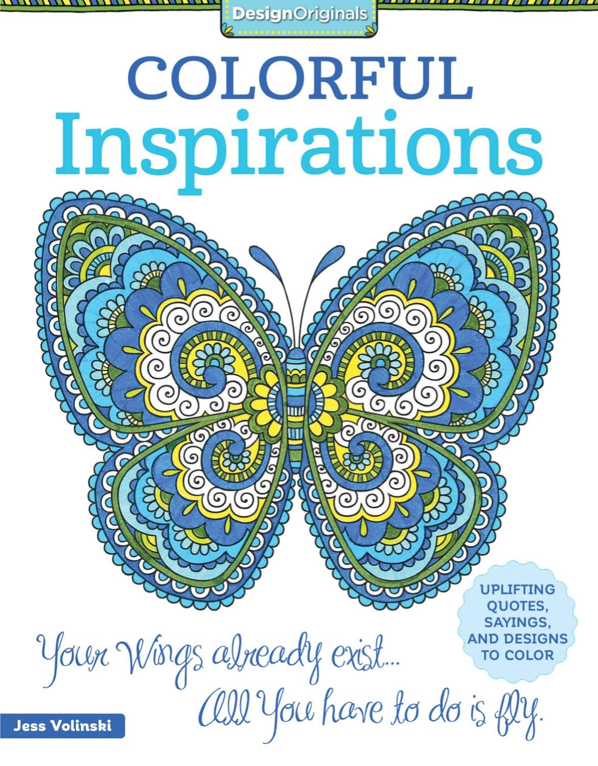colorful inspirations coloring book uplifting quotes sayings