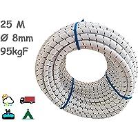 Cuerda Elastica 8mm. Monotex Polietileno. Piscinas (Standard NF