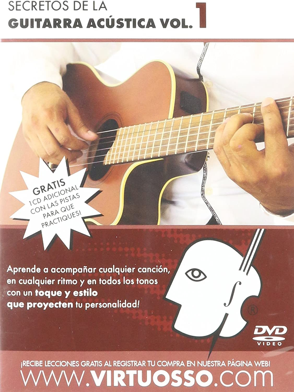 virtuosso Acoustic Guitar Method Vol. 1 (curso de guitarra ...