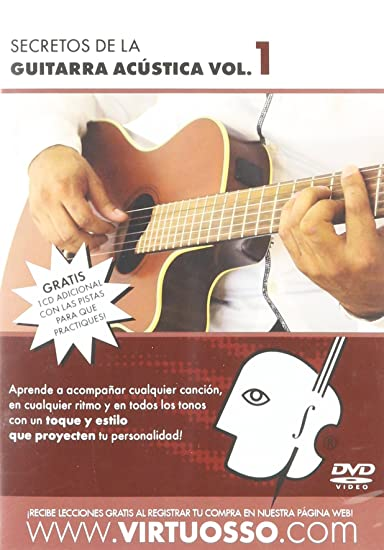 Amazon.com: Virtuosso Acoustic Guitar Method Vol.1 (Curso De Guitarra Acústica Vol.1) SPANISH ONLY: Musical Instruments