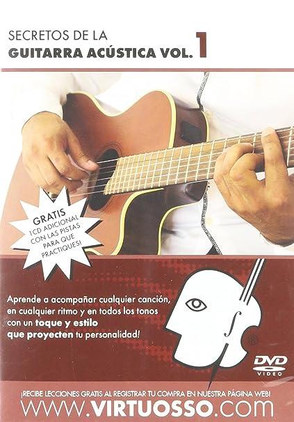 Amazon.com: Virtuosso Acoustic Guitar Method Vol.1 (Curso De Guitarra Acústica Vol.1) SPANISH ONLY: Musical Instruments