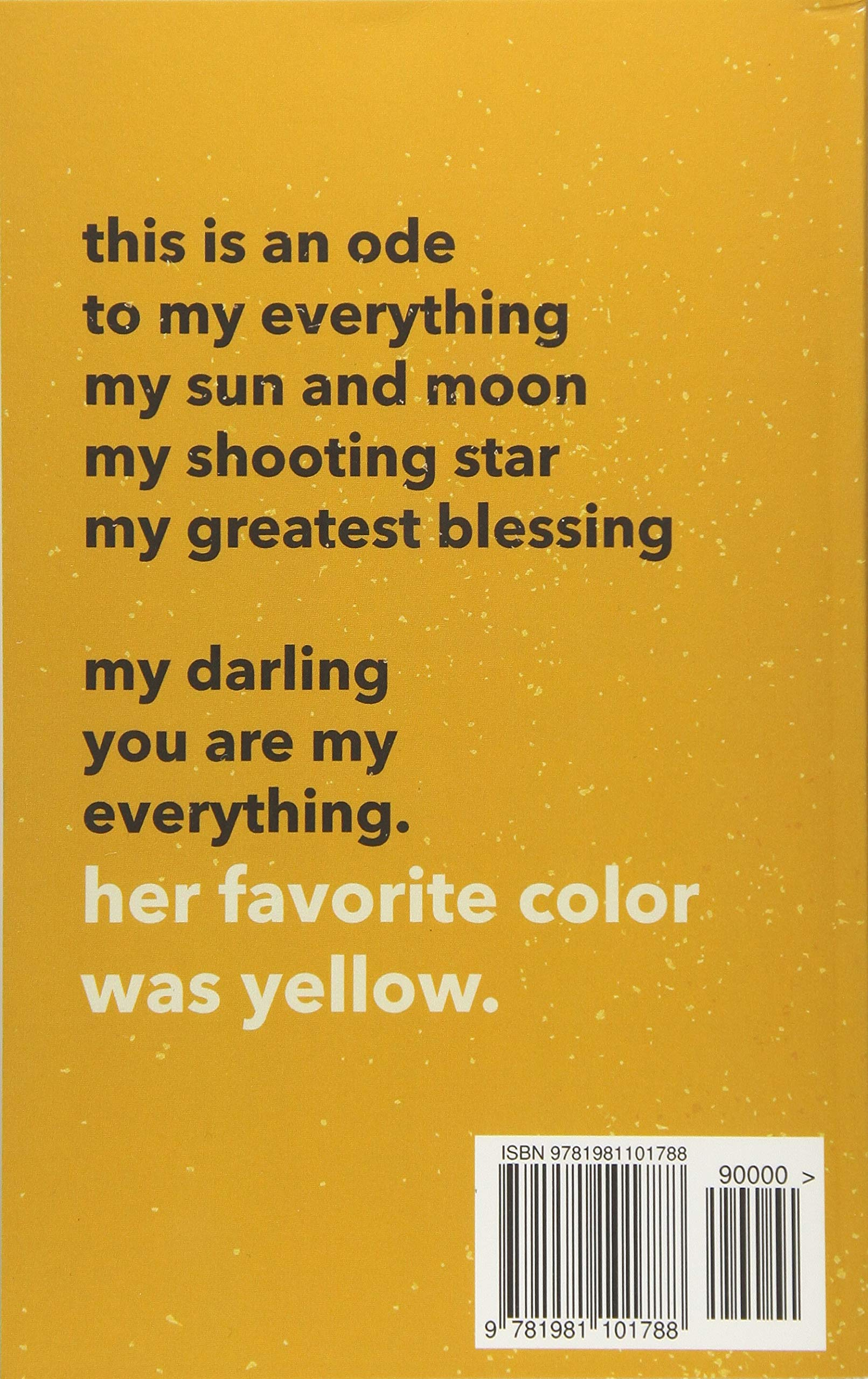 Her Favorite Color Was Yellow: Edgar Holmes: 9781981101788