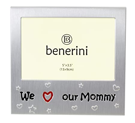 We Love Our Mommy - Photo Picture Frame Gift - 5 x 3.5 \