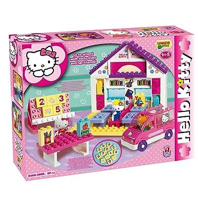 Androni Giocattoli - Juego de construcción para niños Hello Kitty de 89 Piezas s.r.l. CH13: Juguetes y juegos