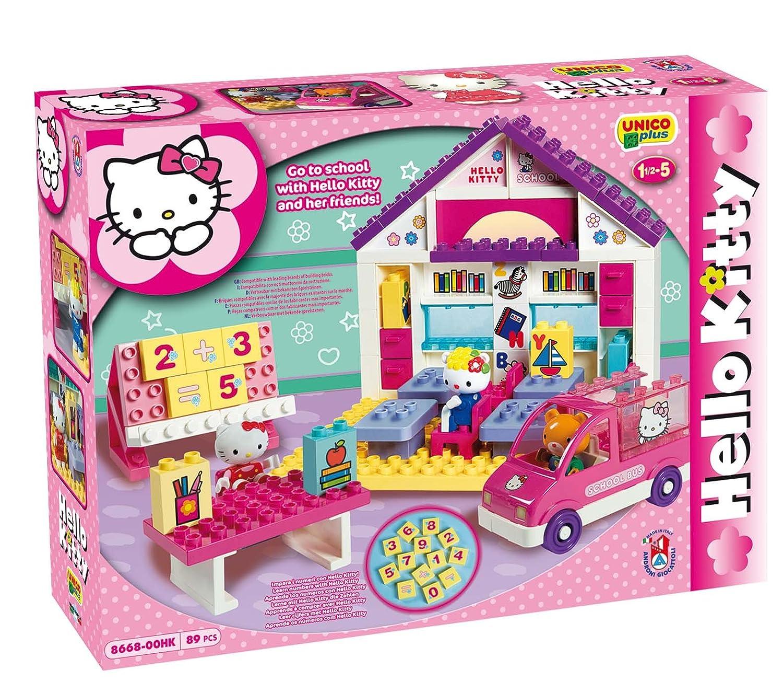 Ecole hello kitty briques jeu de with luminaire hello kitty - Hello kitty chambre bebe ...